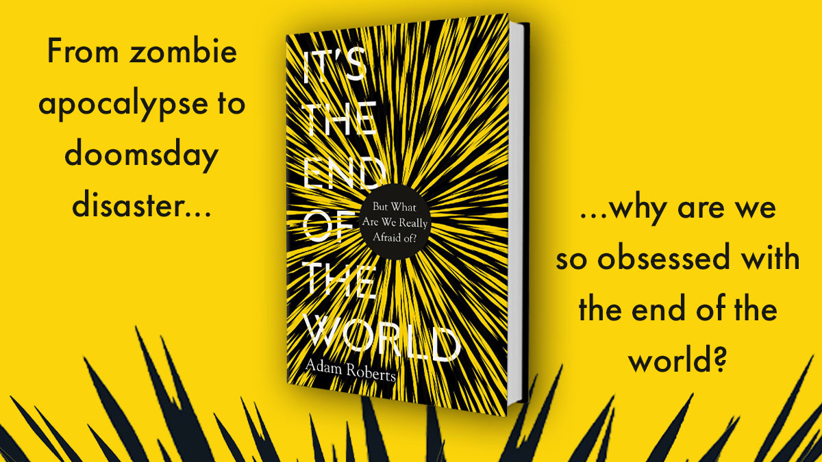 Need a book that lands with a bang? Pre-order yours now. Out 5 November > amzn.to/2HHW8mG #EndOftheWorldBook