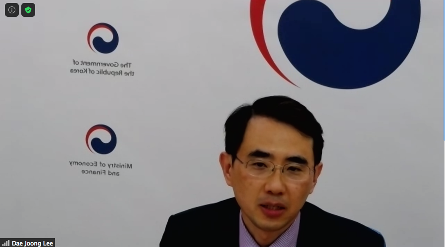 test Twitter Media - @Policy_Projects & @LondnDIPLOMAT welcomes our second speaker, Mr Dae Joong Lee, Director of Development Finance, South Korea's Ministry of Economy and Finance for 'World Economic Series: South Korea'   #KoreanNewDeal #Covid #WorldEconomy https://t.co/k5hNWO72Ti