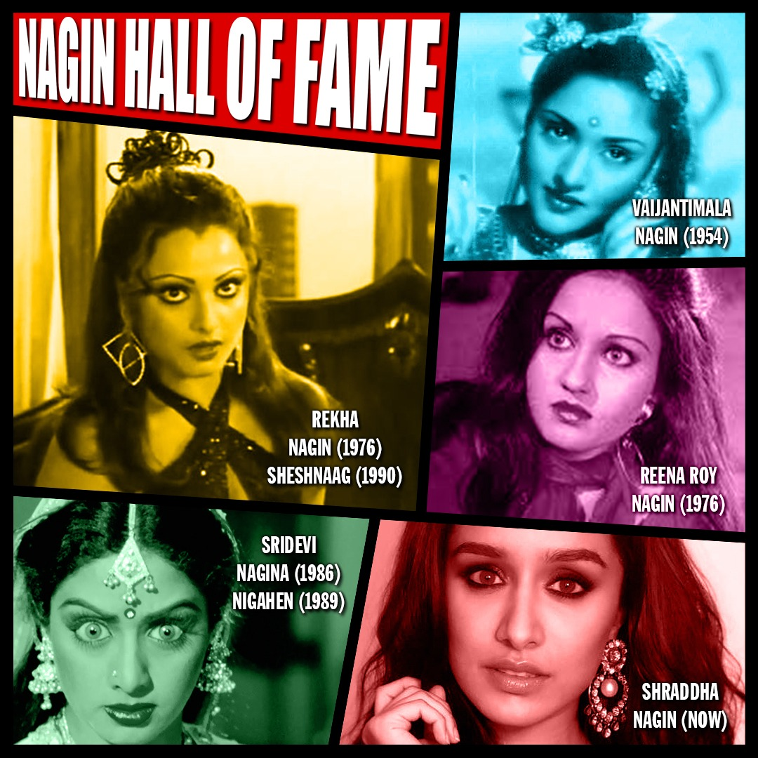 After Rekha, Reena Roy, Sridevi's portrayal of Nagin, @ShraddhaKapoor is all set to play the iconic role in her next film. Super excited to see #ShraddhaAsNagin in her upcoming film franchise which will be directed by @FuriaVishal and produced by @Nikhil_Dwivedi @saffronbrdmedia