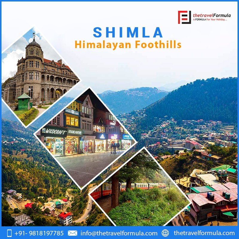 Shimla, the beautiful capital of Himachal Pradesh is one of the most popular tourist #destinations of the country. #Shimla #HimachalPradesh #Himachal #Himalayas #landscape #nature #Mountains #Tour #TTF https://t.co/VjYzmgrtb6
