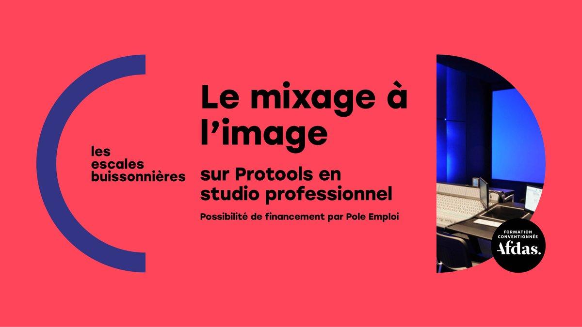 Last call ! Derniers jours pour monter votre dossier de financement sur la formation de novembre. https://t.co/fx8kt7Yvnv - Formation Mixage à l'image sur #Protools en studio professionnel du 23/11 au 04/12/2020 à #Lyon https://t.co/7XOmP2d5sq