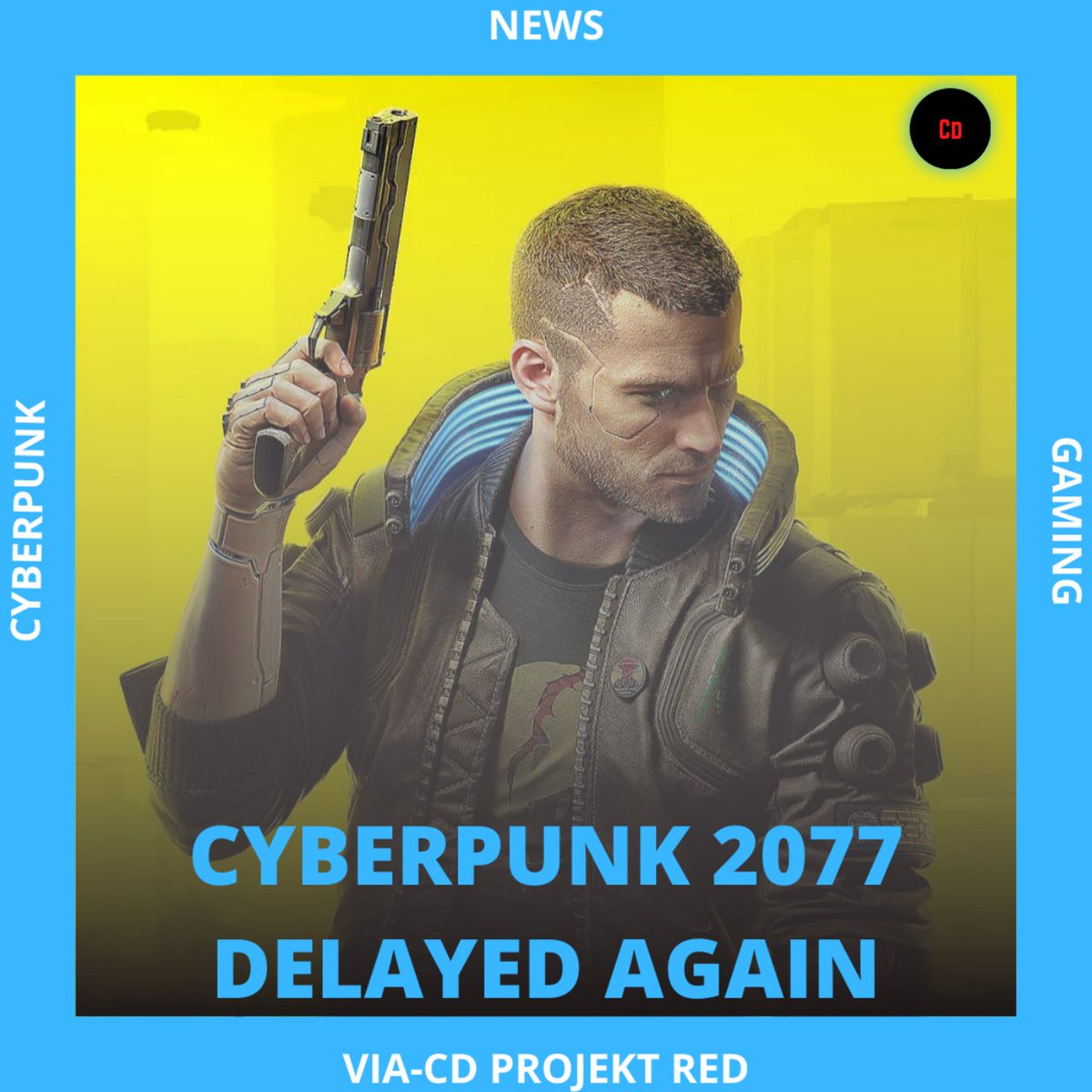 Cyberpunk 2077 delayed to December 10. @CDPROJEKTRED @CyberpunkGame @CP2077Countdown #Cyberpunk2077 #CDProjektRED #cyberpunk #gaming #gamingcommunity #GamingNews #gamingpc #gaminglife https://t.co/q0VX9Vayrm