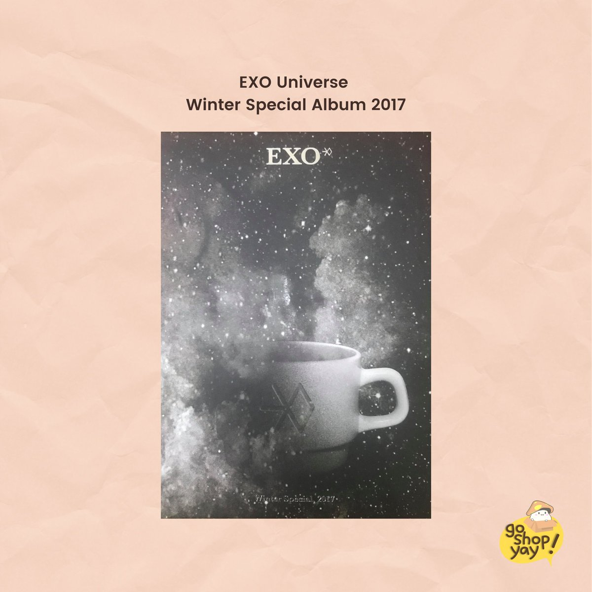 Another giveaway? We heard you! ✨  Calling all EXO-Ls ‼️ Get a chance to win EXO Universe Winter Special 2017 by following the mechanics below.  Ends when we reach 1500 followers, good luck! #GOSHOPYAY #GSY_Giveaway