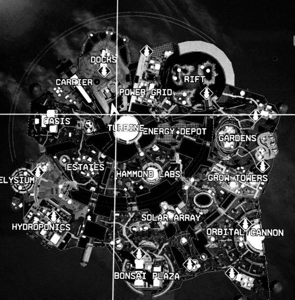 Olympus map location