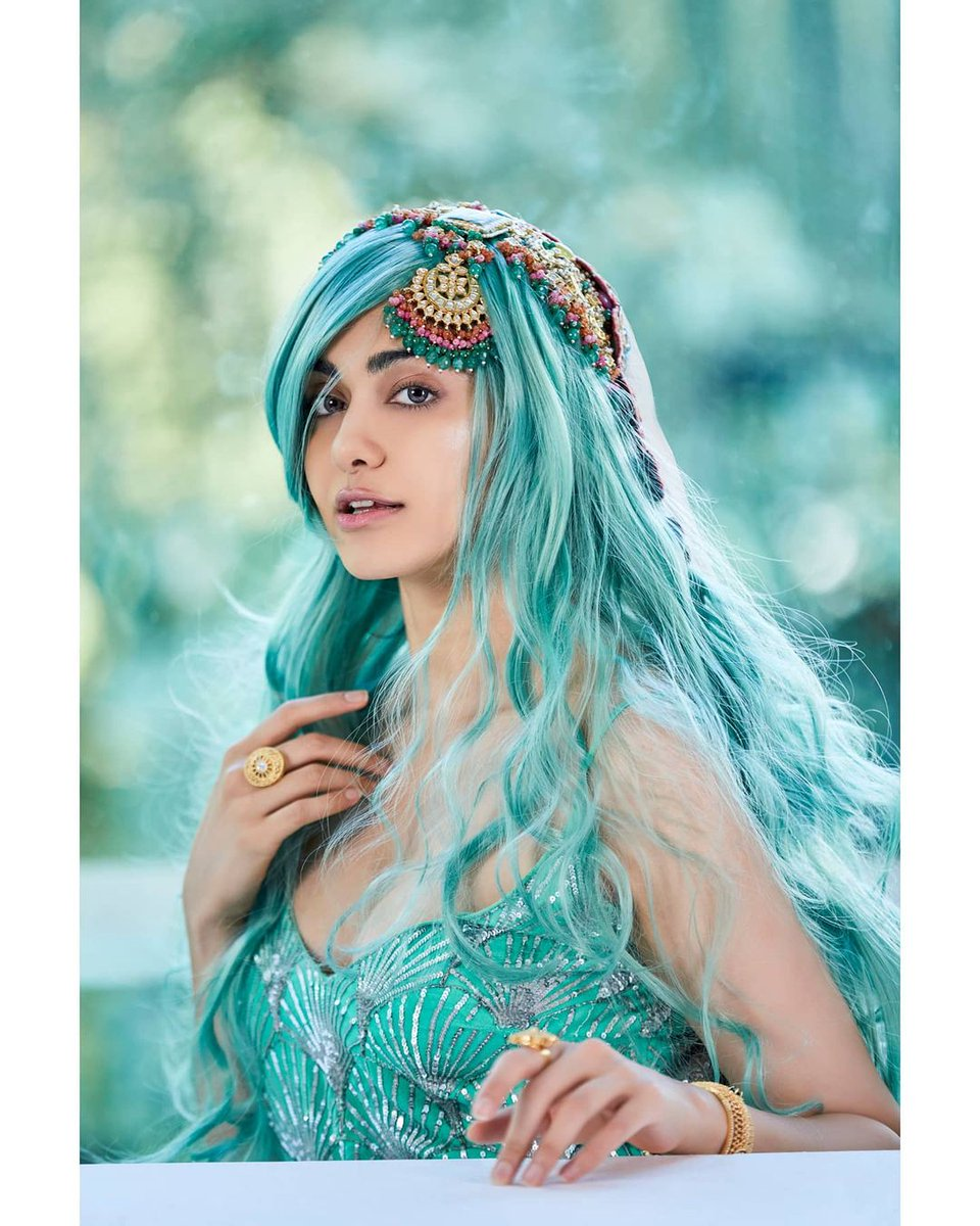 Actress Adah Sharma Looking absolutely gorgeous in a fantasy fashion shoot.   #Adahsharma  #Beauty #Style https://t.co/6xVwD0uAjZ