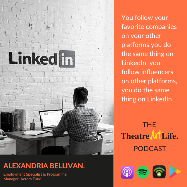 Episode 23 'Covid Special with Alexandria Bellivan' of The TheatreArtLife Podcast is out!  Click here https://t.co/ZgrGtpj9wi to listen. #podcast #online #theatre #theatreartlife #workshop #actors #actorsfund #career #employment #covid19 #socialengagement @TheActorsFund https://t.co/7sWrPgZmpF
