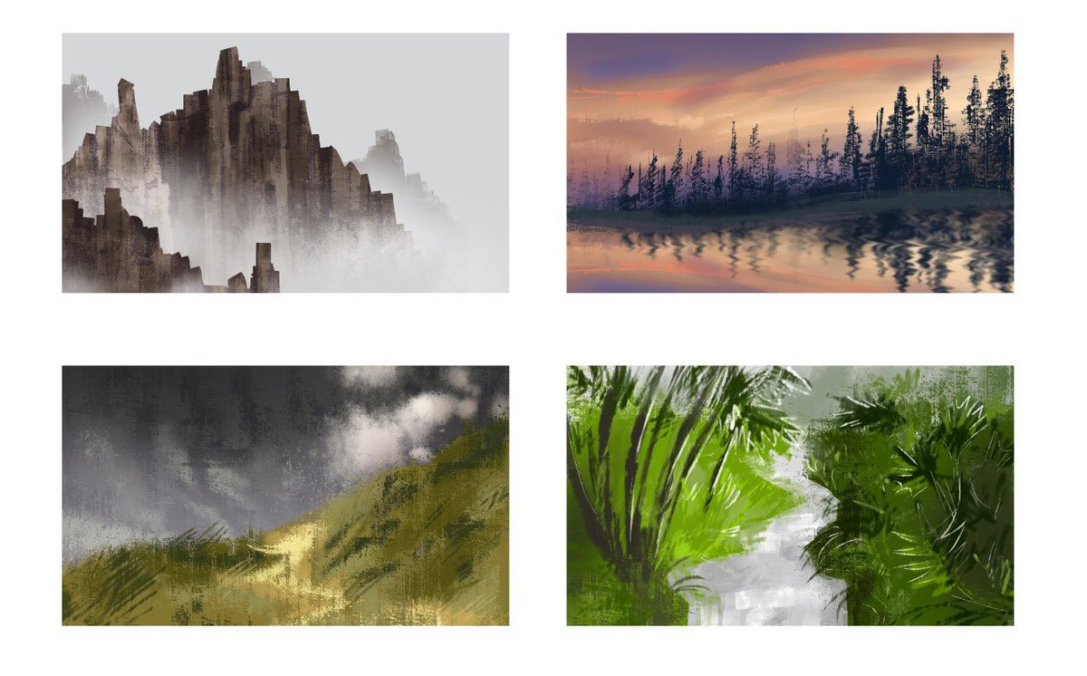 Today I offer you some backgrounds. Tomorrow, who knows? #conceptart #artistsontwitter https://t.co/iEExhl3SXb