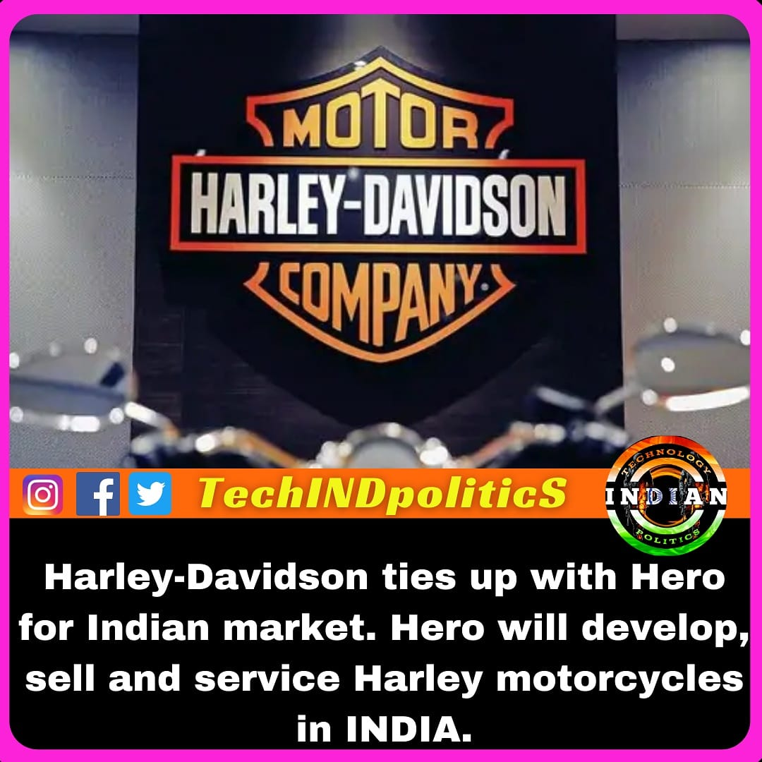 Last month, Harley announced its decision to close manufacturing operations in India due to sluggish volumes. Now they have tied up with HERO in New Delhi. . . . #TechINDpolitics #hero #harleydavidson #motorcycle #harleyindia #india #instagram #love #photography #mumbai https://t.co/DuZ44QoQDN