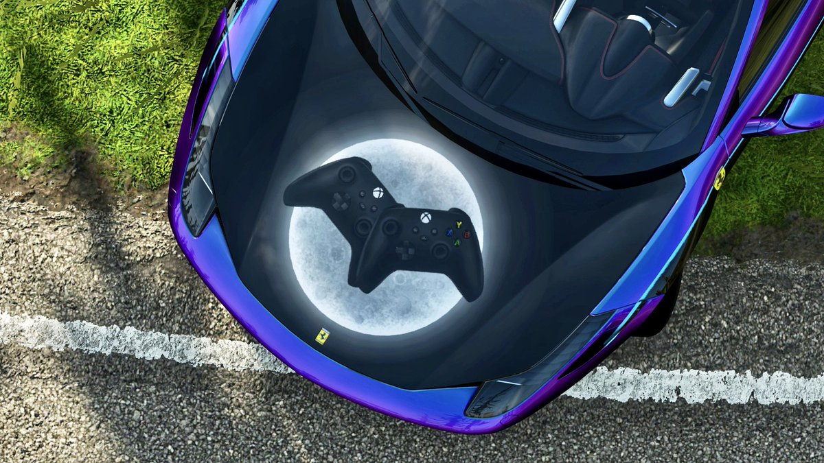 Here's my @ForzaHorizon 2020 Halloween livery on a @Ferrari 458 Italia. It also can be possessed by an evil tune provided by my buddy @PTG_Toasty 😈  🎨 553 834 899 🛠 101 064 017  @Xbox  #forzashare https://t.co/47smSm3QtT