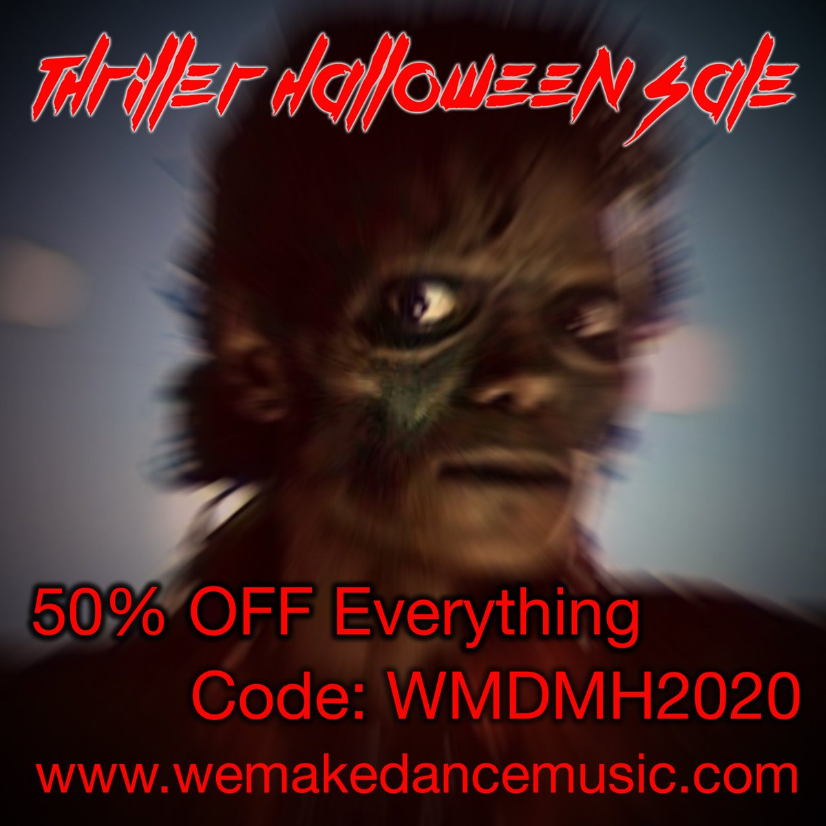 The thriller sale is here, get 50% OFF with code WMDMH2020 https://t.co/vTLU0lxHhp #musicproduction #ableton #abletontemplates #logicprox #logictemplates #flstudio #cubase https://t.co/EkmBfFC0pr