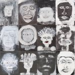 Image for the Tweet beginning: 'Spirit Faces' by Anita Ford