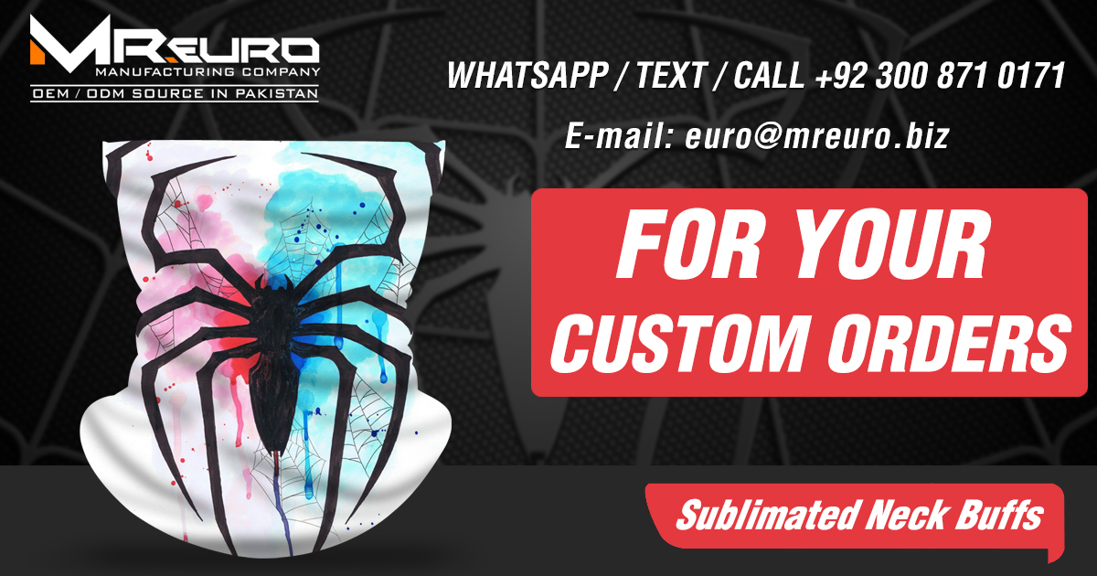 Mr euro manufacturers Customize Sublimated Neck Buffs / Face Covering #Neckgaiter #firearms #tactical #shooting #range #field #LadiesFashion #WomensFashion #WomensStyle #Huntress #spider #kids #men #women https://t.co/O8I87A6NXu