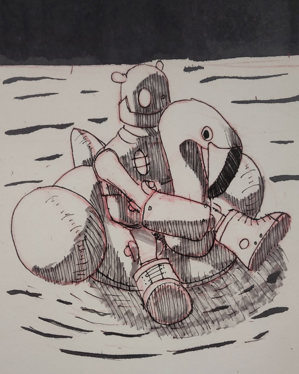 Inktober 2020 Day-28 FLOAT  #inktober #inktober2020 #inktober2020day28 #ink #inkart #inkartist #inkartwork #conceptart #conceptartist #illustration #sketchbook #sketch #drawing #drawingbook #dailyart #dailysketch #dailydrawing #artinstructor #characterdesign #dailydraw #float https://t.co/oLqBYEgdQA