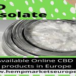 If you are looking for CBD Isolate in the European Region, then Hemp Markets are the right place for you. We are the reference point for buyers & sellers. This is the biggest online trading platform.  #cbdproducts #cbdedibles #cbdgummies #Hemp #hempoil #cannabidiol #cannabis