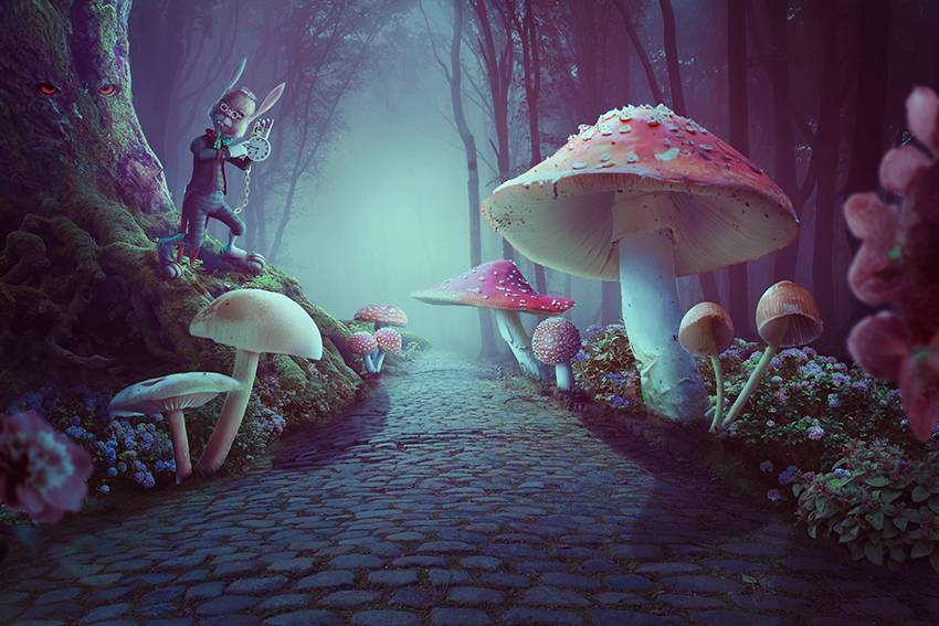 #ArtistOnTwitter Learn How to Create a Wonderland Photo Manipulation With Adobe Photoshop https://t.co/JHu3xdgHal #tutorial #GraphicDesign #photoshopediting https://t.co/PETD5MjXPP