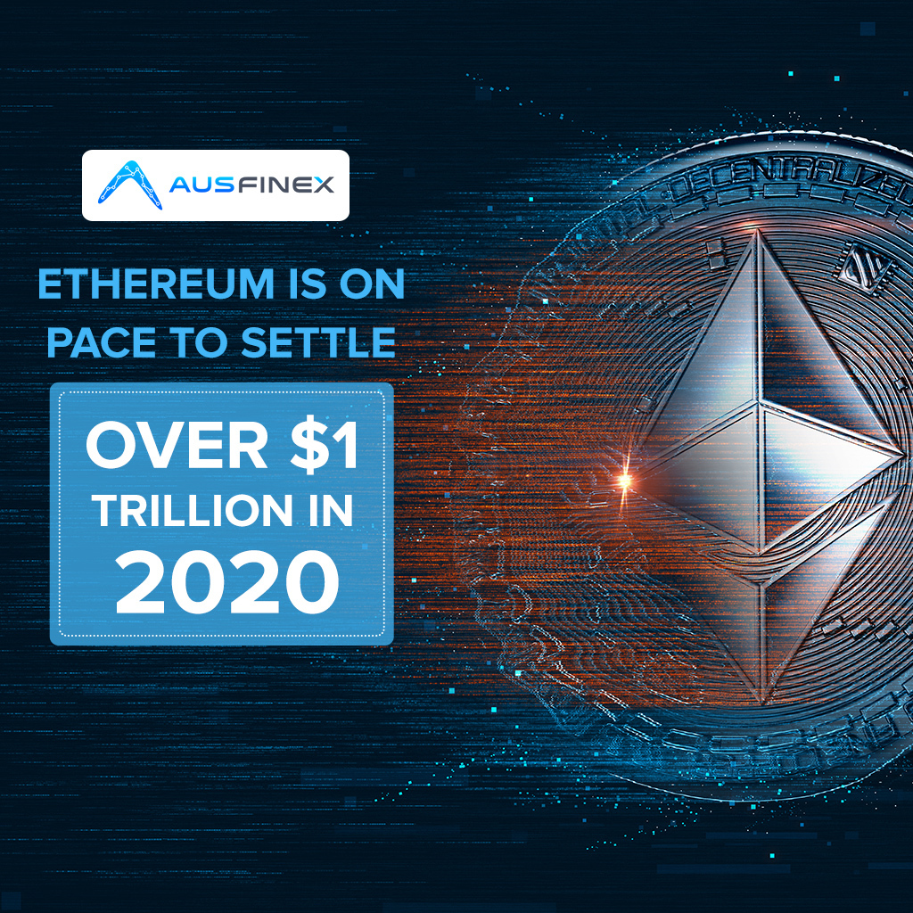 The #Ethereum blockchain network is currently on track to hit $1 trillion worth of transactions in 2020. 🔥📈  Read Full Article : https://t.co/mUU1mnyPt5  . . . #Ausfinex #cryptonews #cryptoupdate #blockchain #ethereuminvestment #onlinetrading #ethereummining https://t.co/5Cd31WgeiB
