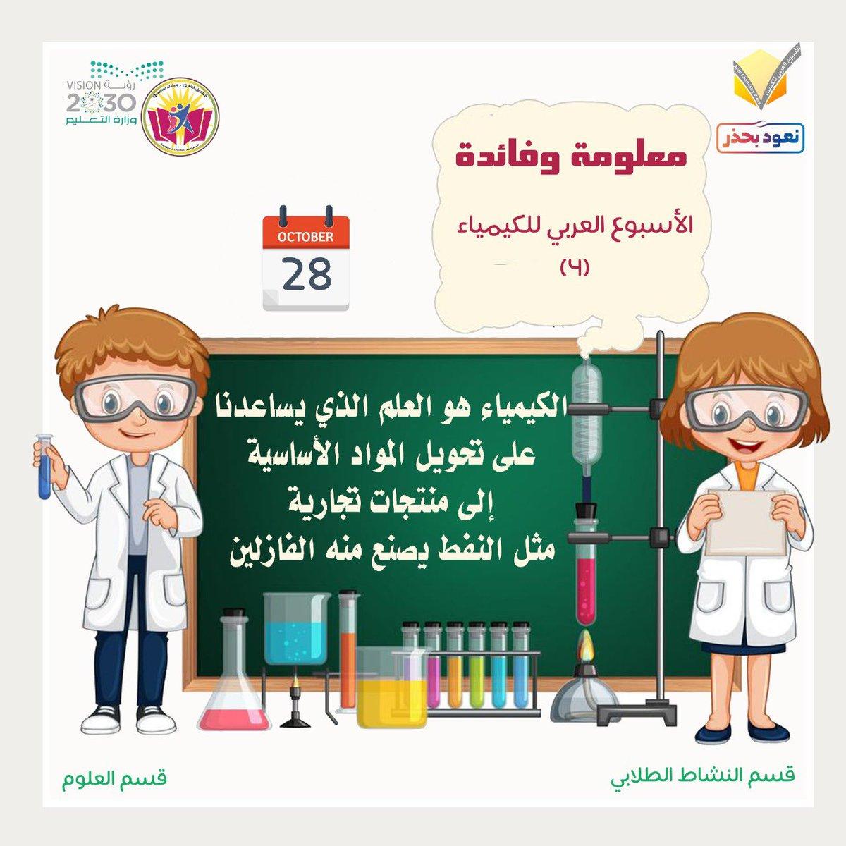 الأسبوع العربي للكيمياء Arabchemweek Twitter