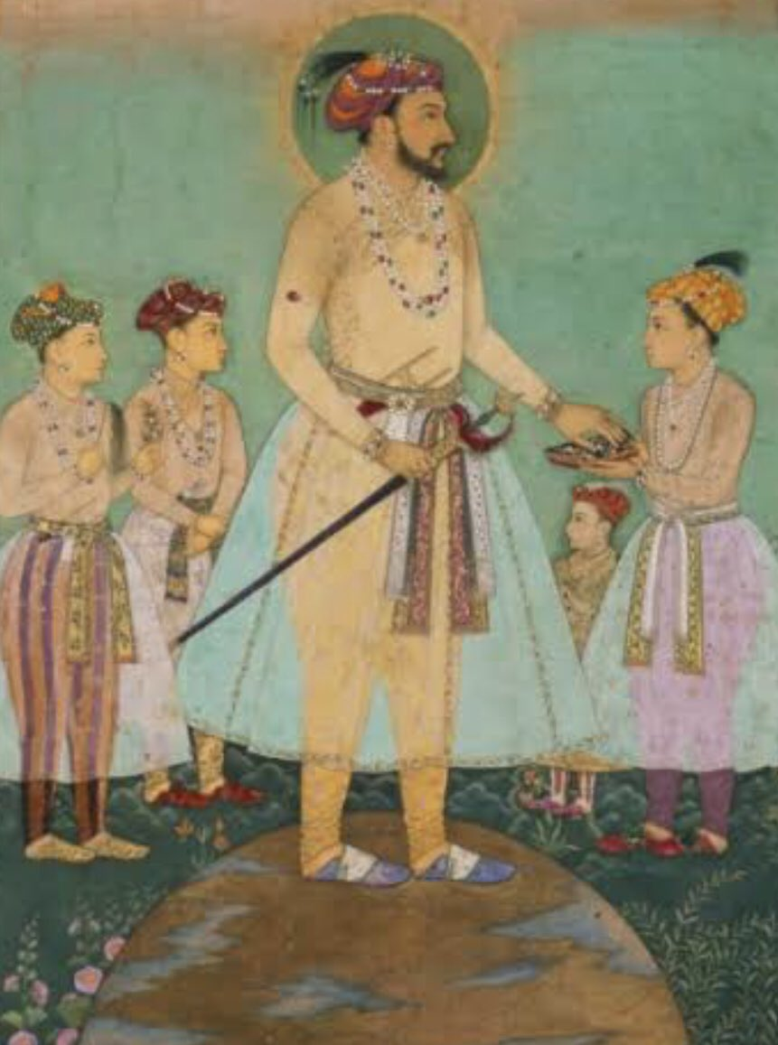 "The 6th Mughal Emperor Aurangzēb ""Alamgīr"" was born on this day in 1618 in the province of Gujarat. At the time of his birth his father, the Emperor Shah Jehan ruled over the #Mughal Empire and #Aurangzeb was his third son, his elder brothers being Dara Shikoh and Shuja."