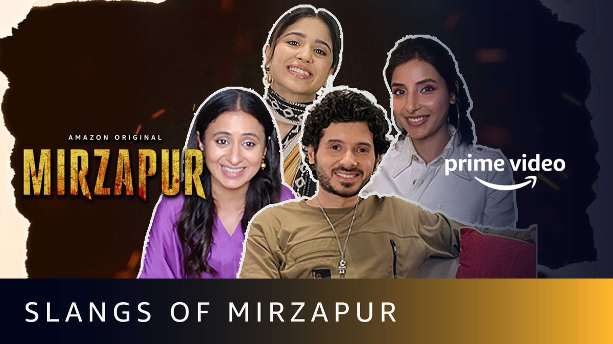 Chaliye aapka Mirzapur ki भाषा se parichay करवाते hain.  #MirzapurOnPrime   @PrimeVideoIN @excelmovies @divyenndu @battatawada @RasikaDugal @HarshitaGaur12  🎥: