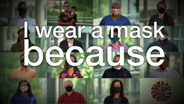 """Image for the Tweet beginning: """"I wear a mask because"""