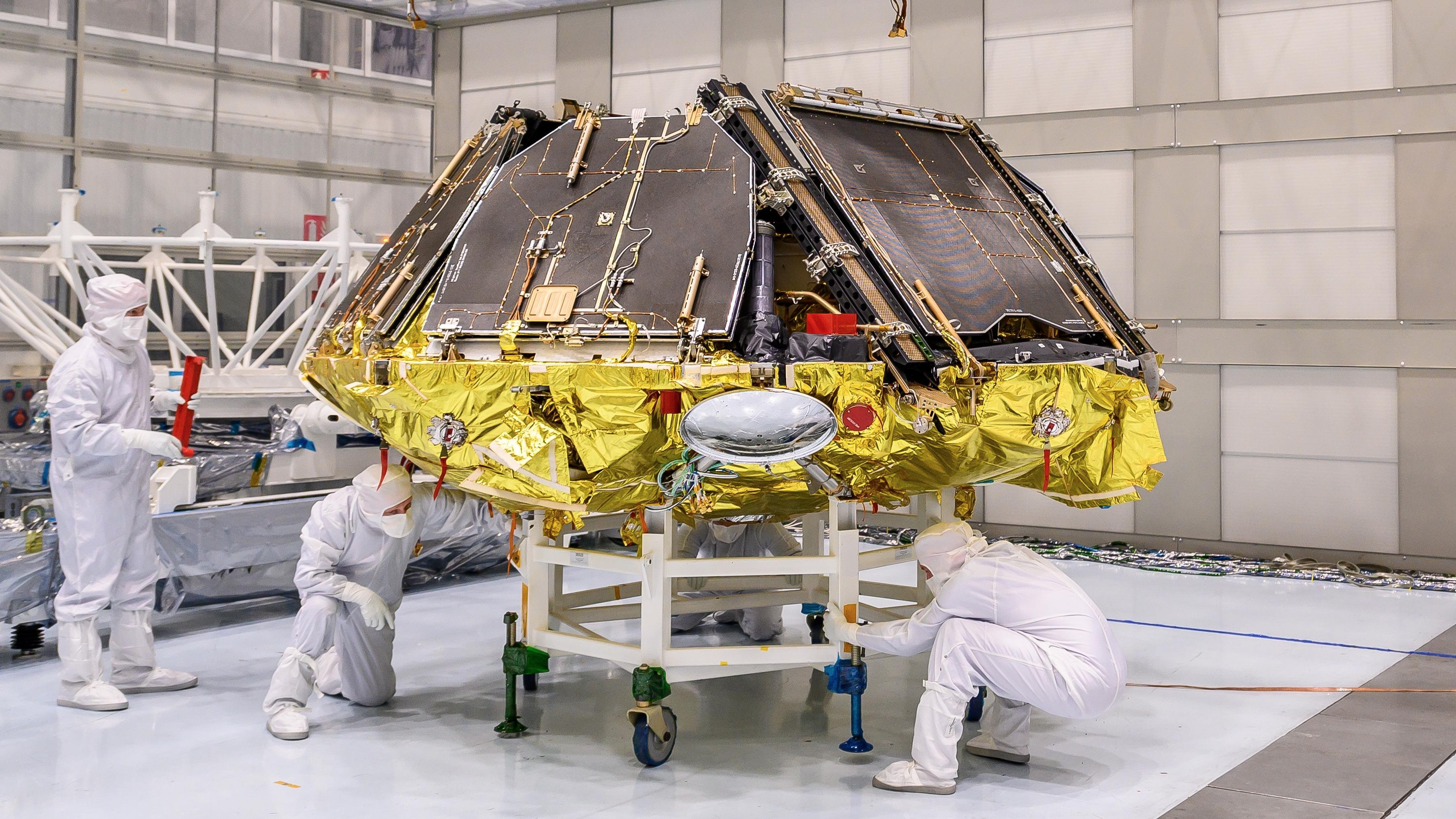 марсианская посадочная платформа Казачёк