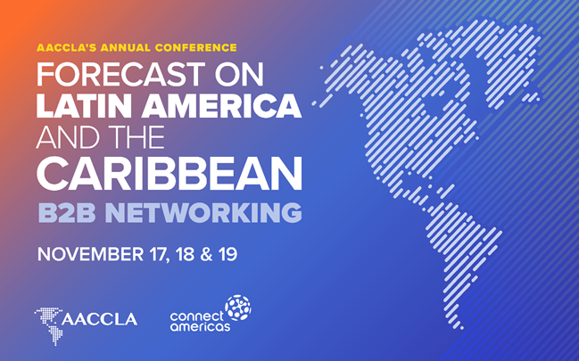 test Twitter Media - From November 17-19, join @aaccla_uscc and @the_IDB  @connectamericas for our #FOLACB2BNetworkingEvent, an online, 3-day experience featuring one-on-one matchmaking opportunities for businesses in Latin America and the Caribbean. Register here: https://t.co/mvwBQylmu7 https://t.co/KjvTvkhX25