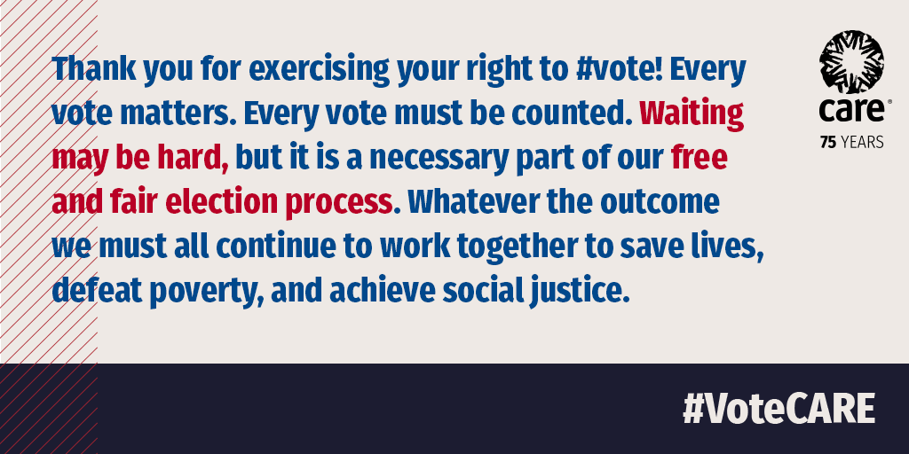 Waiting may be hard, but it is a necessary part of our free and fair election process. #Election2020
