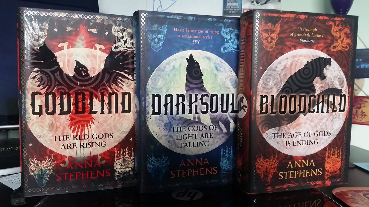 Pls RT: Acclaimed Grimdark Fantasy author Anna Stephens has 1 GODBLIND book bundle (hardcover) for 1 donor in the UK/EU who donates to the #Read4Pixels campaign in support of our work to end #VAW. Donate to get yours today: https://t.co/V43GtPFsUn | @AnnaSmithWrites https://t.co/fVagiFGArd