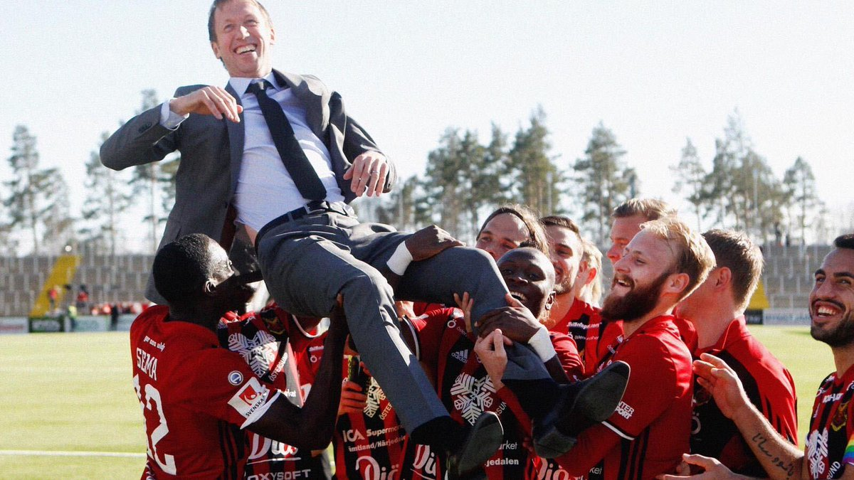 From 2010 to 2018, Potter performed miracles by lifting Ostersunds from the fourth tier all the way to the Europa League knockout stages.