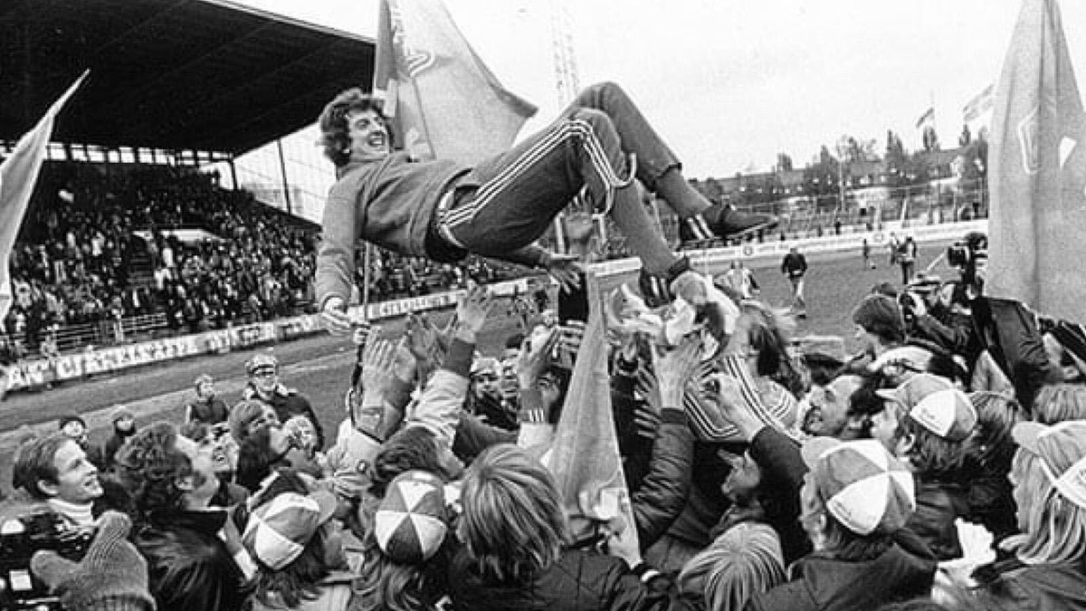 After arriving in 1976, Hodgson turned relegation favourites Halmstad into title winners in only a year.