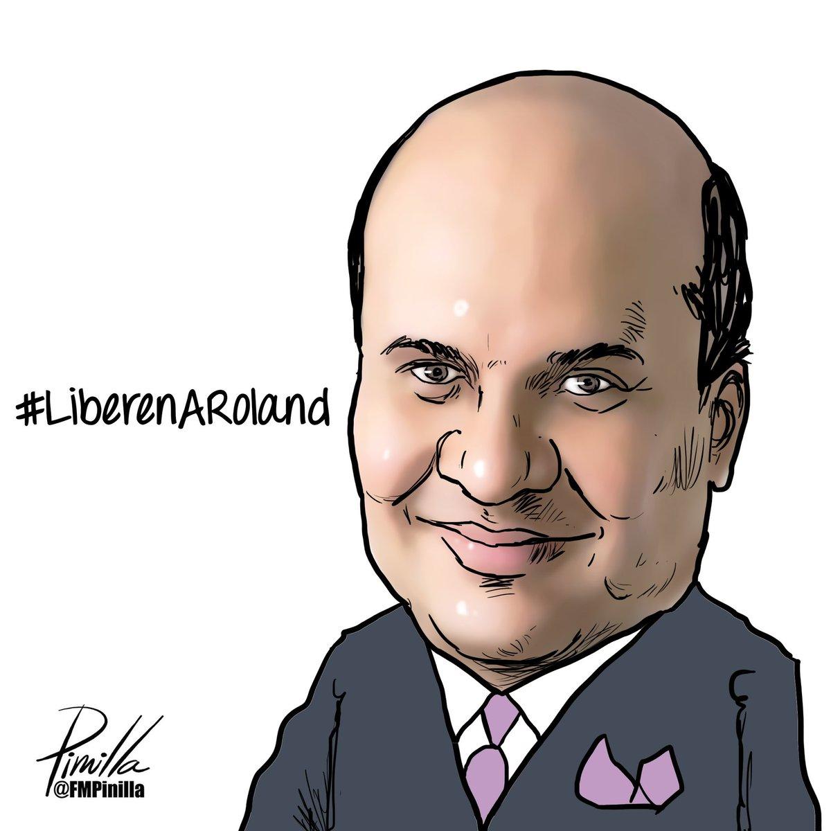 #LiberenARoland!! @rolandcarreno #rolandcarreno #Venezuela https://t.co/mfyRSePCd3