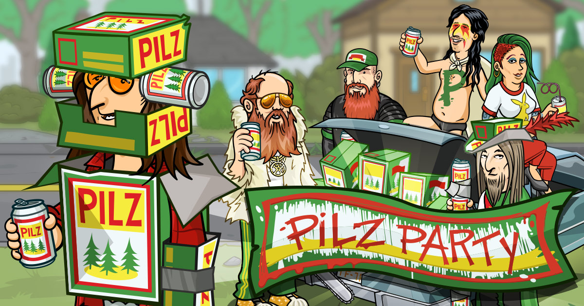 You know the drill, get them Pilz! The Pilz Party event starts now! Reach cash milestones for end of event rewards! 🍻🤘  Play now: https://t.co/TAfMNl18Gt  #justgiver #mobilegame #rewards #ingameevent #deanmurdoch #terrycahill #nhl #awooo #pilz #pilsner #beeroclock #beers https://t.co/45FSLnoIkQ