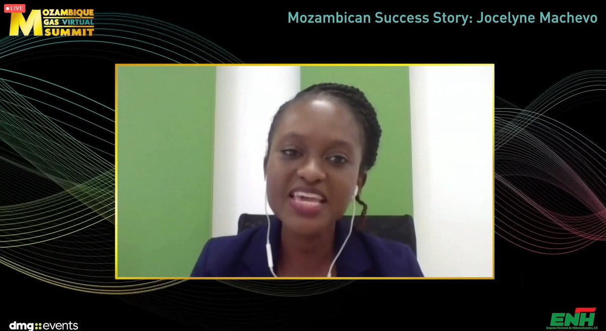 Inspiring to hear from Jocelyne Machevo the reasoning behind wanting to achieve a career within the Oil & Gas industry, the outstanding achievements & awards already obtained & the solid advice given to those listening for what the future holds within the industry!  #MGSVirtual https://t.co/6ZuM2fYsuF