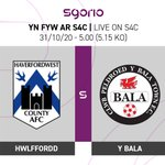 Image for the Tweet beginning: Hwlffordd v Y Bala ⚽️  Cymru