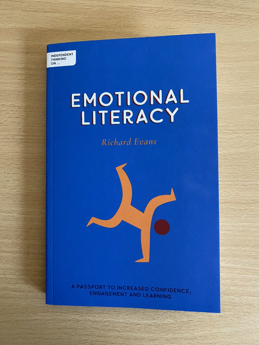 Thanks Natalie! Copies of this brilliant book on #EmotionalLiteracy are now available here: https://t.co/hBtWZgE5RJ.