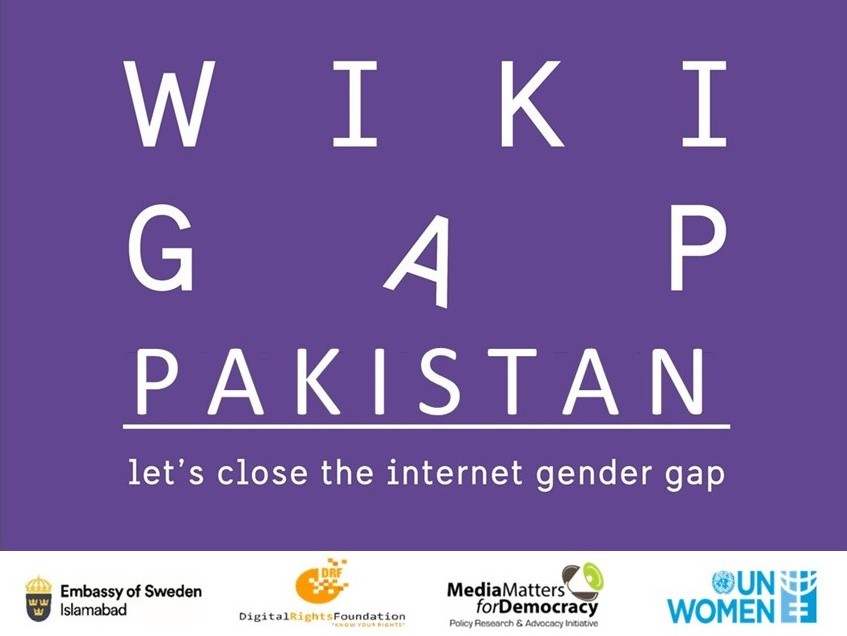 It is that time of the year again! Happy to collaborate with @SwedeninPK, @DigitalRightsPK & @unwomen_pak for 2020 virtual edition of 'Wiki Gap'. Feminists from across the country can join in to help us increase the representation of Pakistani women on @Wikipedia  Stay tuned!