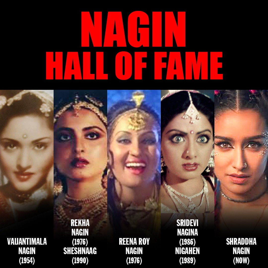 Meet the new age Nagin @ShraddhaKapoor. After Rekha, Sridevi, #ShraddhaAsNagin is here to leave a mark (pun intended). The role of Nagin will be a treat for #ShraddhaKapoor fans! The film is produced by @Nikhil_Dwivedi @saffronbrdmedia and will be directed by @FuriaVishal https://t.co/YNWhs0rj7g