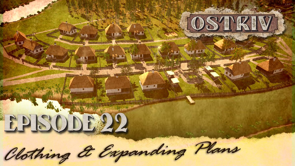 Episode 22 of my #ostrivgame journey OUT NOW on my #youtubechannel 💚 ⬇️LINK BELOW⬇️ 📽️https://t.co/Y5lBDXIcl1📽️  #ostriv @OstrivGame #GamersUnite #gamers #gamingchannel #PCGaming #games #rts #WATCH #RETWEEET #Simulation #YoutubeGaming #gaminglife @LotusUprise #Grinding #episode https://t.co/XvAXOpqcoq