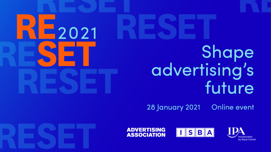 We are delighted to announce the @IABUK's Gold Standard as the Platinum Partner of RESET 2021!   Read full details here: https://t.co/6ue0eDVLol #RESET2021 https://t.co/qspOzyaNXg