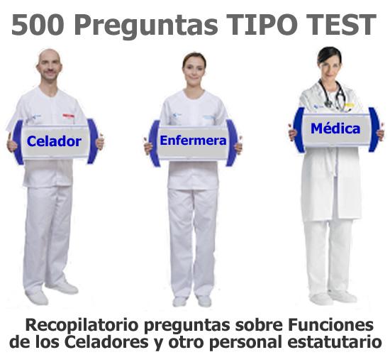 500 Preguntas TIPO TEST sobre Funciones de los Celadores y otro personal estatutario... ElaKy9xXEAAbCzi?format=jpg&name=small