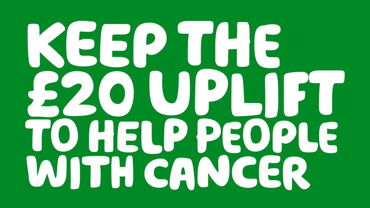 📢Macmillan has joined forces with other charities + organisations to urge @GOVUK to keep the £20 increase in Universal Credit payments that have been a lifeline for vulnerable people during the pandemic.  Show your support by signing @jrf_uk's petition: https://t.co/JCvHIEY6PQ https://t.co/zQaKHLGwDr