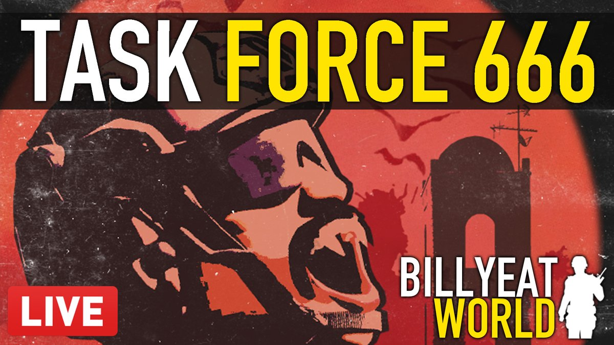 BillyEatWorld - Task Force 666 is back in #InsurgencySandstorm!  Come join the spooky stream >>   💡Also I've also got a code for Sandstorm to give away this week to viewers as well.  ✅Make sure you're following. ✅Type !insurgencyGiveaway into chat (works offline).