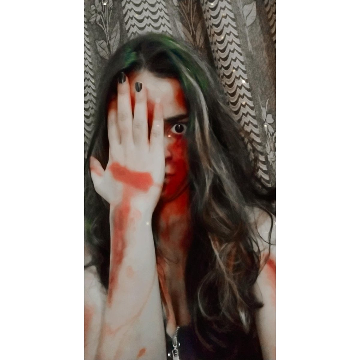 """Monsters are Real,  Ghosts are real too,  They live inside Us ,  And Sometimes They  WIN"" 😈🖤 Vardat Tv serial for Star Bharat channel. Shoot done.🤗 Coming soon In New look😈💀 #tvserial #starbharat  #Vardat #comingsoon #shivanisharma #devil #devilbiss #herror #devilgirl https://t.co/AB1Gc8UZCt"