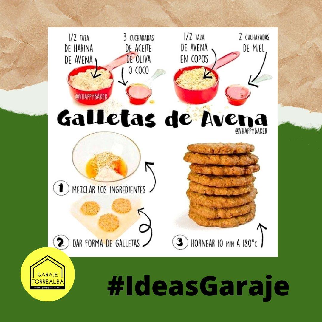 Receta de ricas galletas de avena 🍪🍪🍪  #cocina #recetas #ventas #venezuela #food #gastronomia #receta #comida #compras #fitness #comidasaludable #barquisimeto #nutricion #ventasonline #foodie #familia #postres #negocios #hogar #ventasvenezuela #gourmet #instafood https://t.co/JVDXgWgD4k