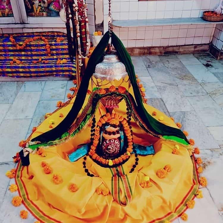 हर हर महादेव  आज का श्रृंगार  #HarHarMahadev #om .#namashivaya  #har #har  #mahadev_har  #ambikadevi_ji  #derababamangalnath #ambikadevimandir #kharar  #Mohali #punjab  #YogiRamnath #myogiramnath https://t.co/US9c4SqFEI