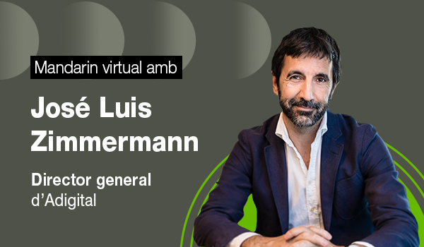 La #digitalització és clau per al creixement econòmic i la creació d'ocupació. Però a quins reptes s'enfronta?  En parlem amb @josezimmer, director general d'@adigital_org, en una nova sessió del #MandarinVirtual  📆 03/11 🕧 10 h 🖥️ Zoom  Inscripcions⬇️  https://t.co/YBa2SJYIgg https://t.co/oOGypzLMDf