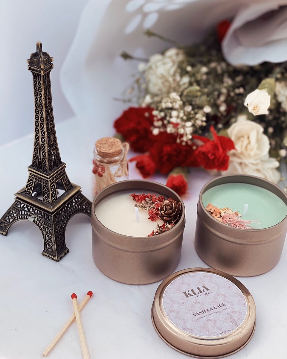 One thing that makes Paris and Klia similar is that you'll surely fall in love. ♥️🌹  Be romanticized by your own Klia Candles scented choice.   Shop yours now!   #paris #love #romance #scentedcandles #aromatherapycandles #kliacandles #australia #philippines https://t.co/gVj0qforEr