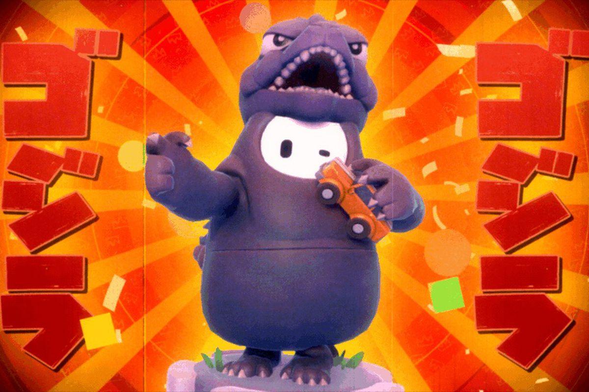 💥¡Llega el Rey de los Monstruos a Fall Guys!💥  Skin de Godzilla en #FallGuysSeason2 https://t.co/cSqchW4H7X