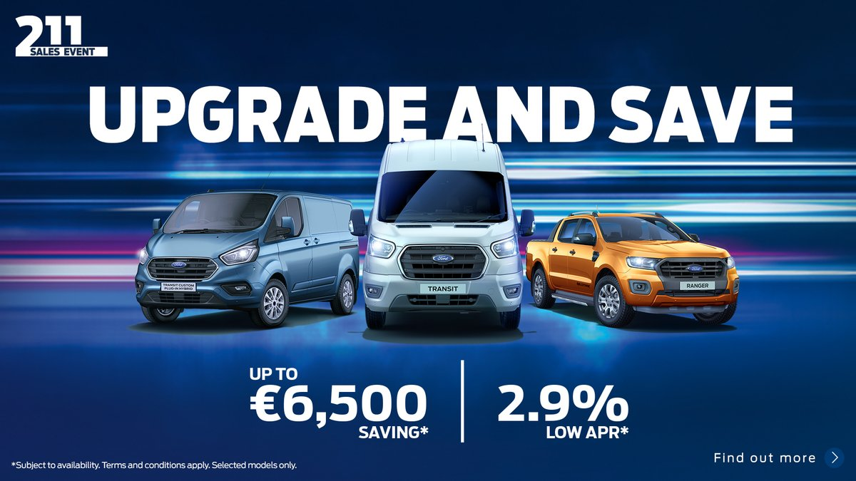 Upgrade and Save- New Ford Commercial Vehicles