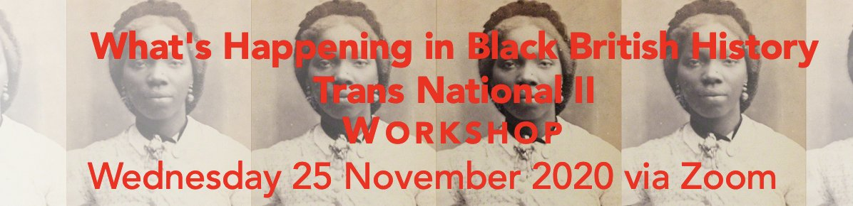 We had so many great proposals for @BlackBritHist #WHBBHTN that were having Part II on 25th November! Heres my preview of whats in store at #WHBBH_TN2: mirandakaufmann.com/blog/whats-in-…